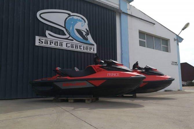 Vendita assistenza moto d'acqua Sardegna - Sarda Cantieri